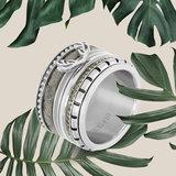 iXXXi Ring 2mm Zilverkleurig Gewei_