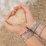 iXXXi Armband Curacao White Goudkleurig_