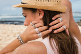 iXXXi Ring 4mm Rose Goudkleurig Aruba_