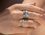 iXXXi XS Ring 2mm Zirkonia White Stone Goudkleurig_