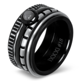 iXXXi Ring 2mm Edelstaal Cartels Goud-kleurig_