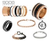 iXXXi Ring 1mm Goudkleurig Zirkonia 1 Stone Crystal_