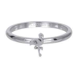 iXXXi Ring 2mm Zilverkleurig Flamingo