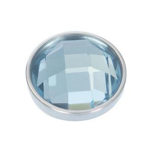 iXXXi Top Part Facet Light Saphire Zilverkleurig