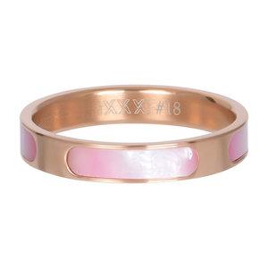 iXXXi Ring 4mm Rose Goudkleurig Aruba