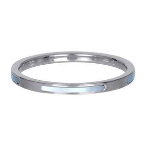 iXXXi Ring 2mm Zilverkleurig Bonaire