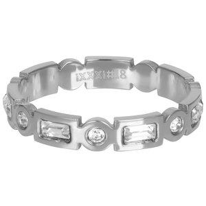 iXXXi Ring 4mm Excellent Zilverkleurig
