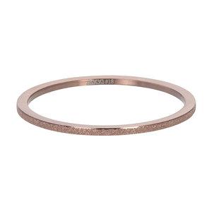 iXXXi Ring 1mm Bruin Sandblasted