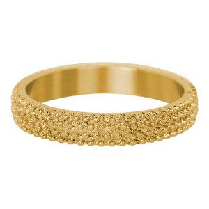 iXXXi Ring 4mm Edelstaal Goudkleurig Kaviaar