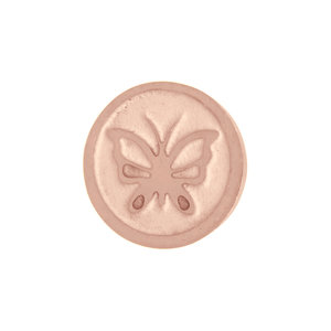 iXXXi Top Part Vlinder Rose Goud-kleurig