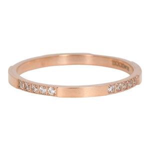 iXXXi Ring 2mm Rose Goudkleurig Chic