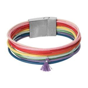 iXXXi Armband Rainbow Colours 19cm